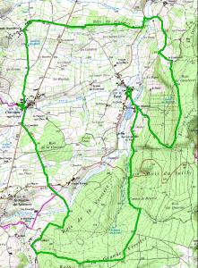 Randonnée 19 km autour de Chevagny